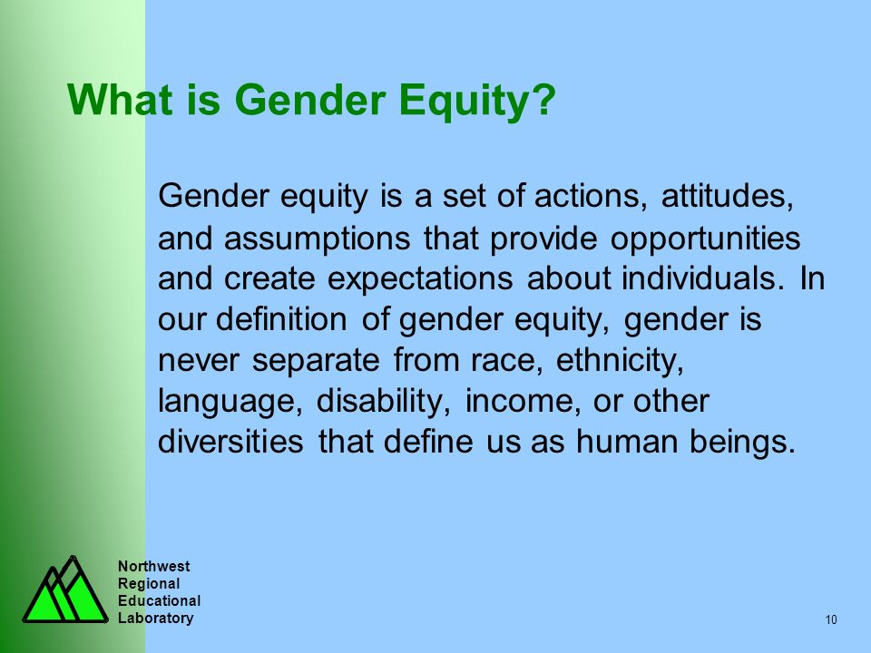 What is Gender Equity