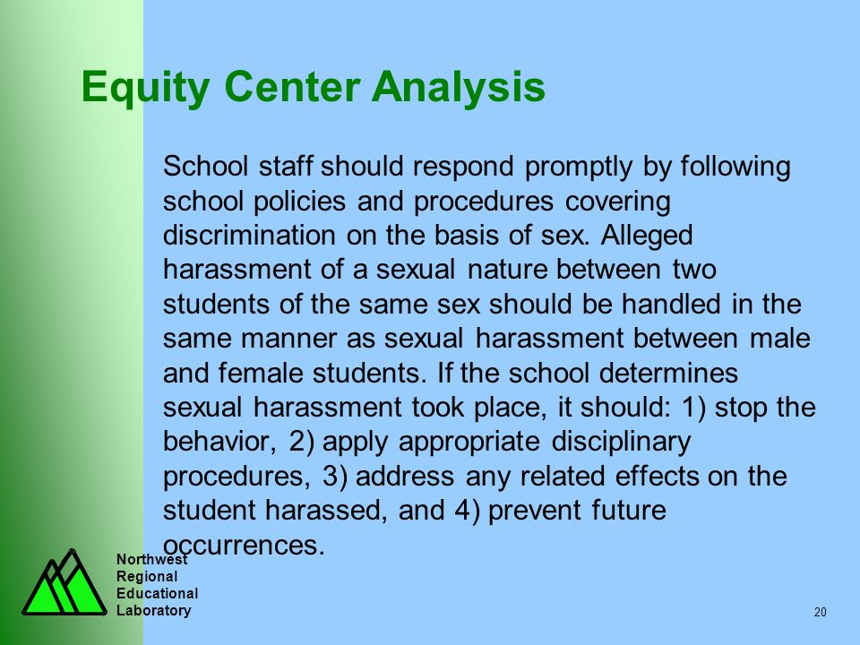 Equity Center Analysis