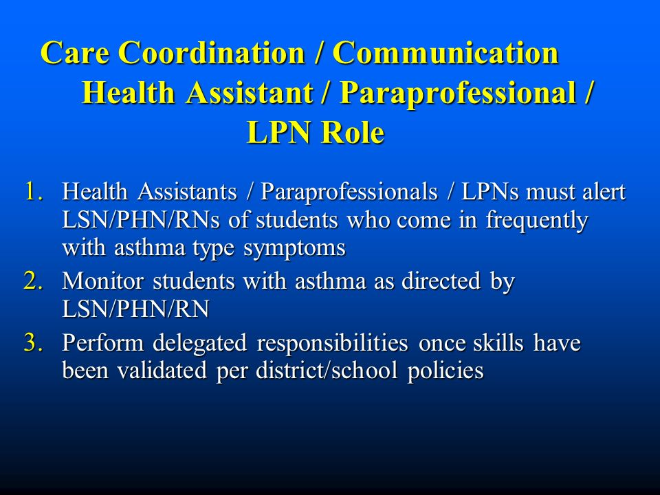 Care Coordination / Communication