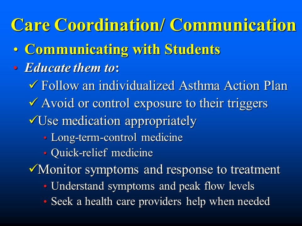 Care Coordination/ Communication