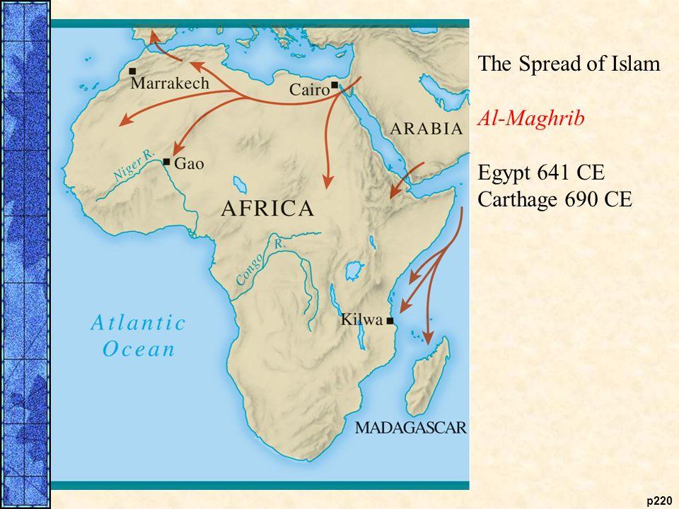 Spread Of Islam In Africa Map | Jackenjuul