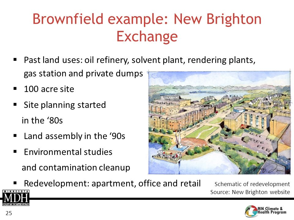 Brownfield example: New Brighton Exchange
