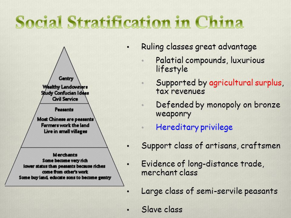 Social Stratification in China