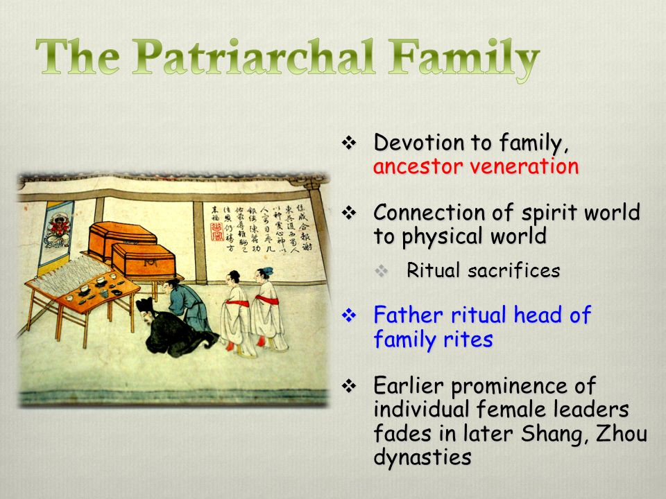 The Patriarchal Family