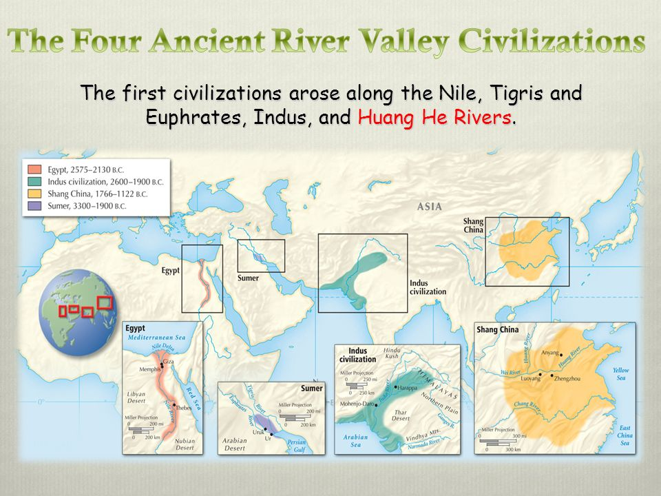 The Four Ancient River Valley Civilizations