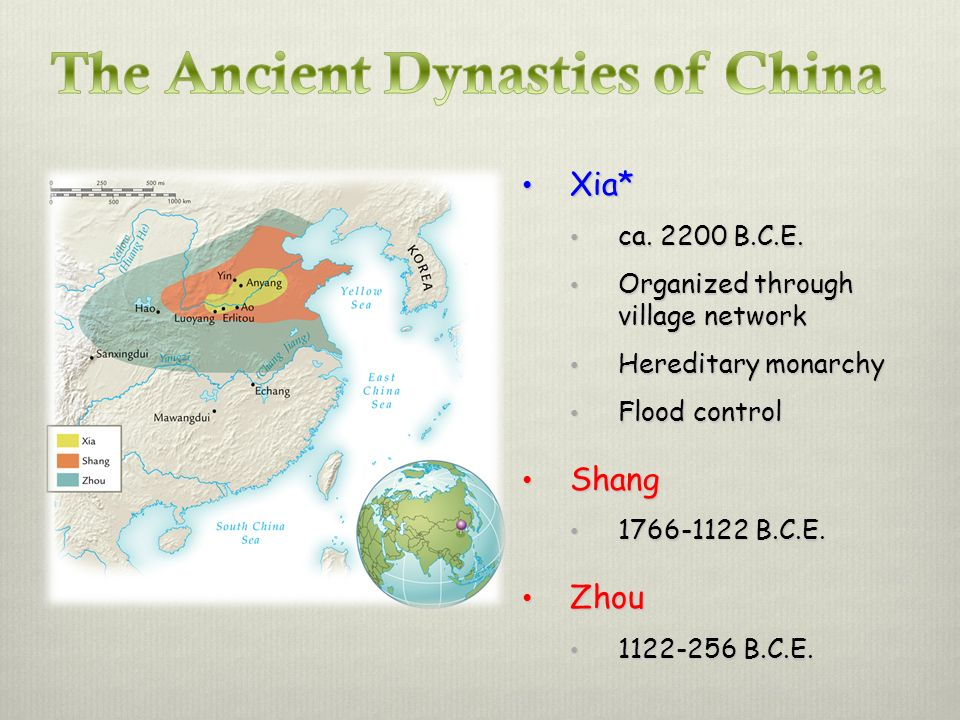 The Ancient Dynasties of China