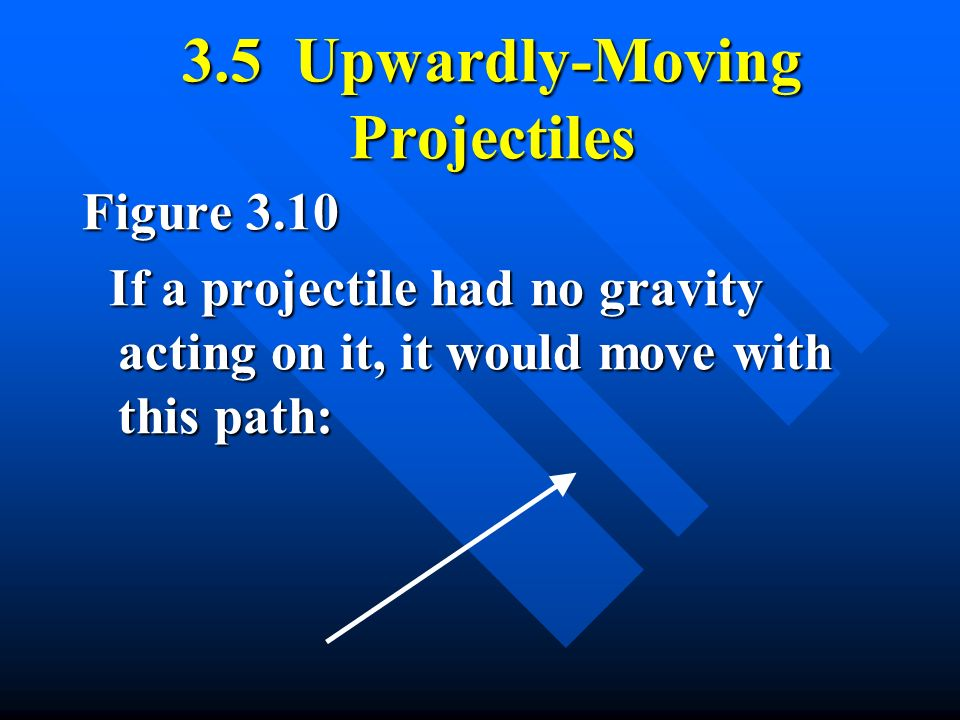 3.5 Upwardly-Moving Projectiles