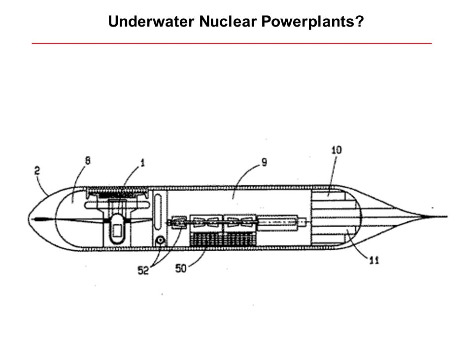 Underwater Nuclear Powerplants