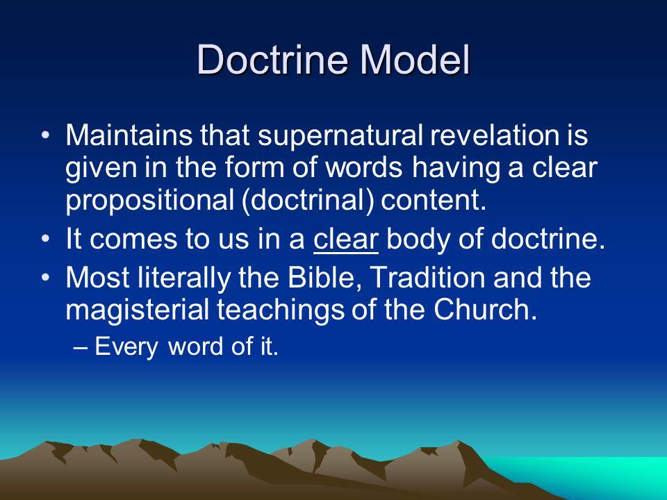 The Models Of Revelation Ppt Download
