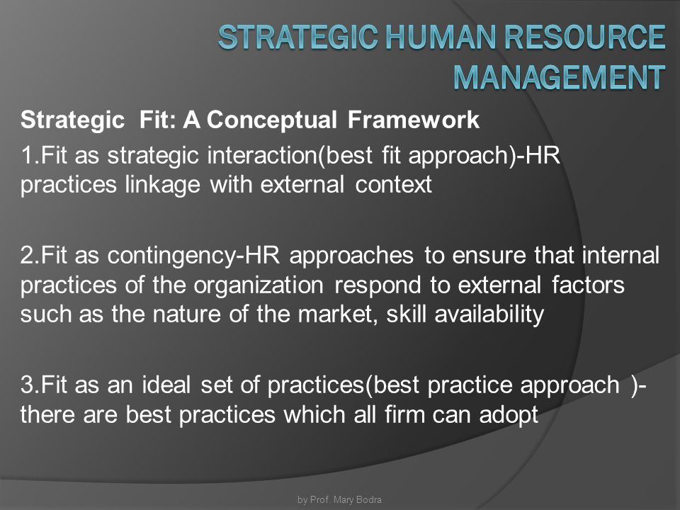 fit human resources