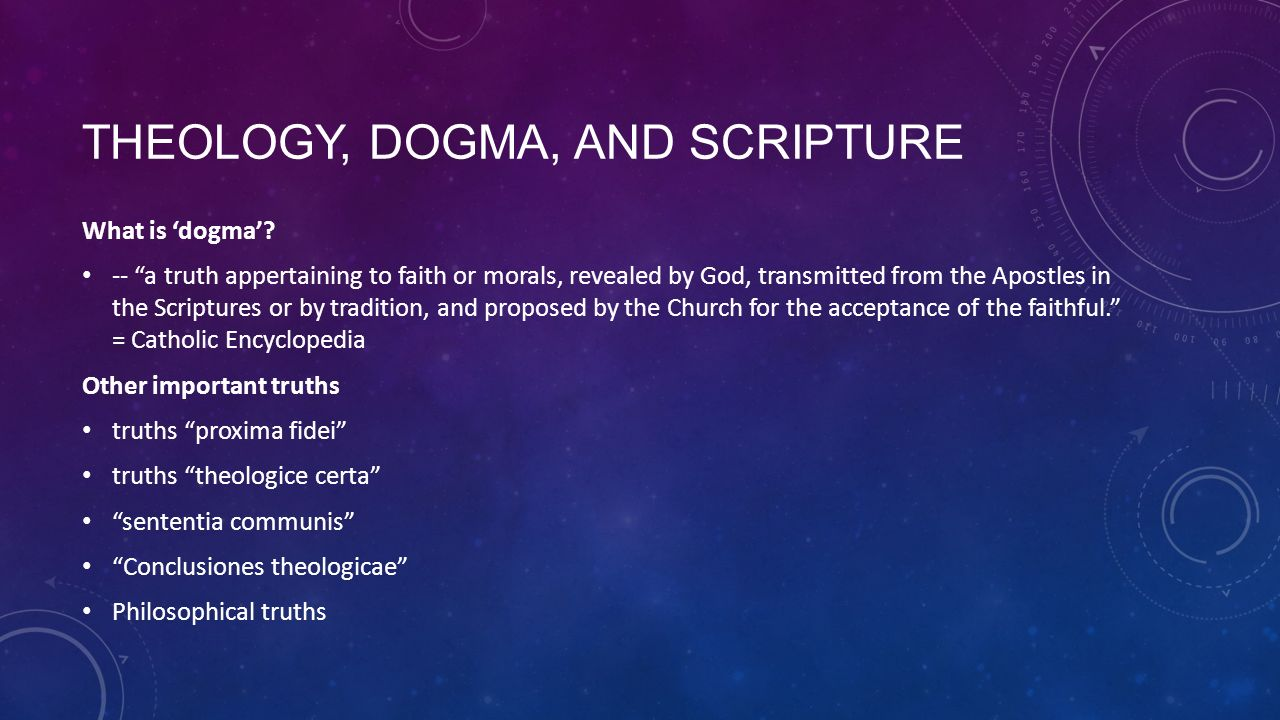 What is dogma 32