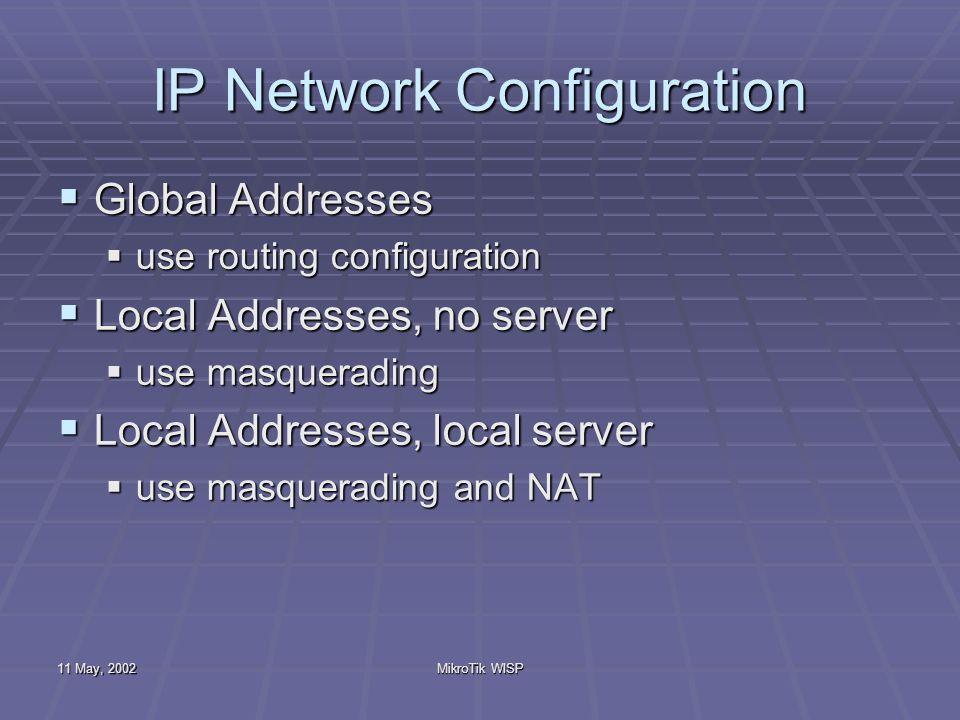 Basic Description of Wireless ISP System
