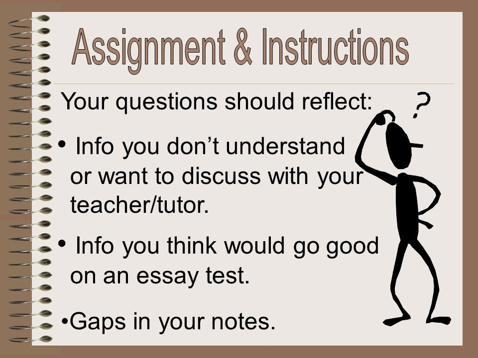 Assignment & Instructions
