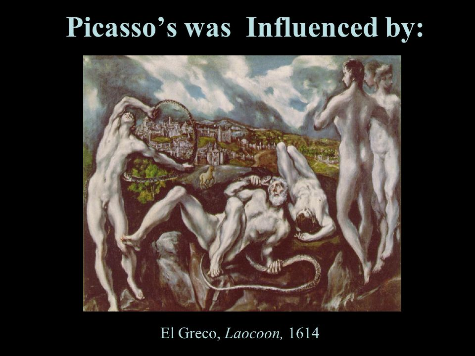 Picasso's was Influenced by: