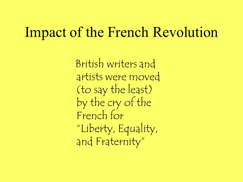 Impact of the French Revolution