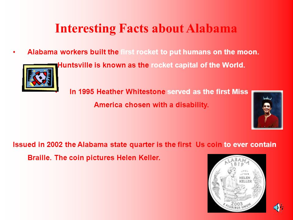 Interesting Facts about Alabama