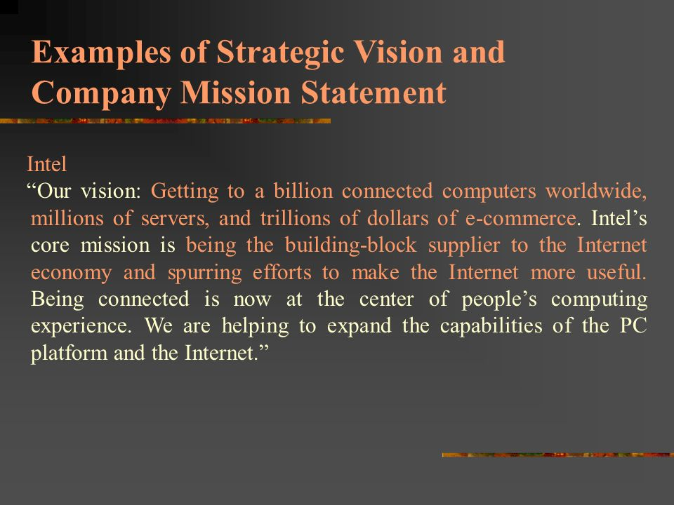 Mission, vision, & statement of purpose ppt video online download.
