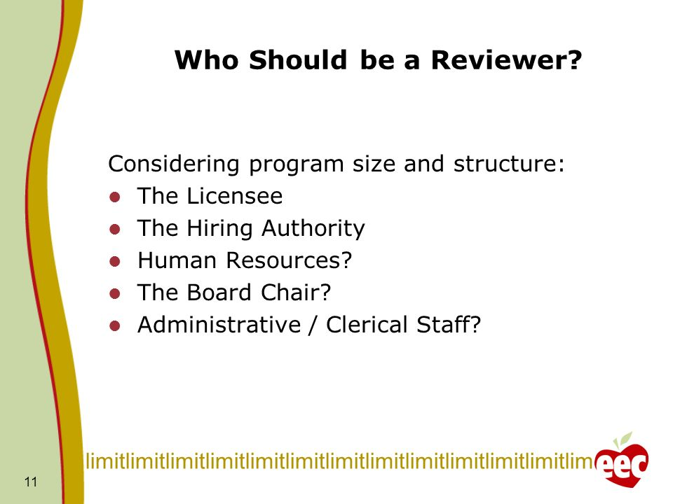 Who Should be a Reviewer