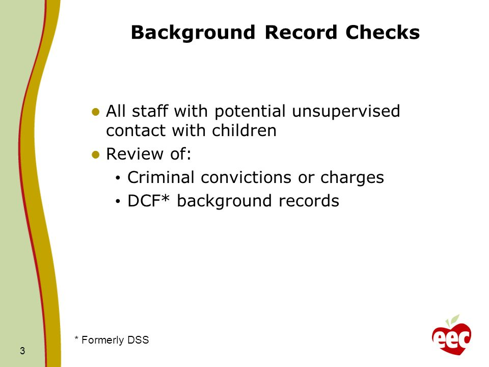 Background Record Checks