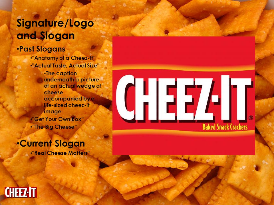 Cheez-It Katey Ayres  - ppt download