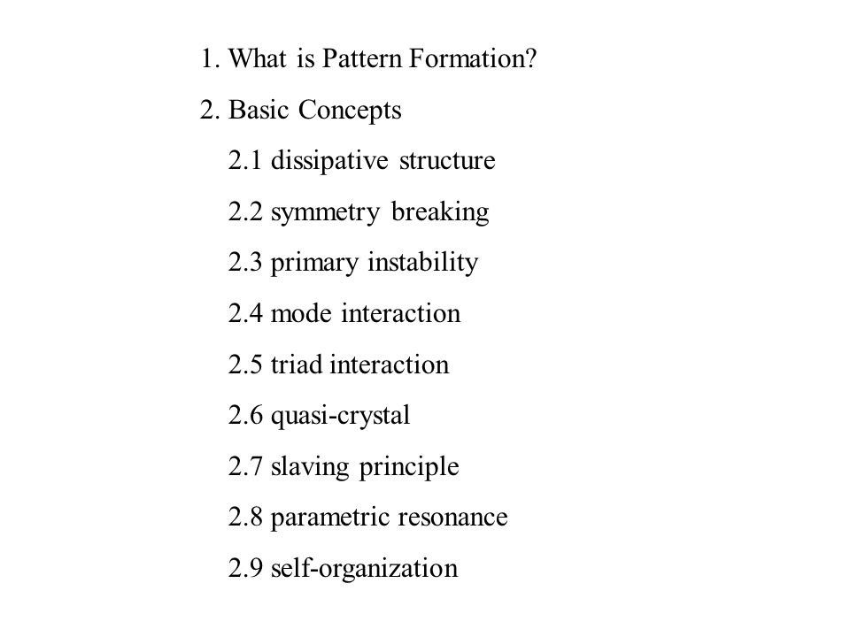 Introduction To Patternformation Ppt Download Stunning What Is Pattern