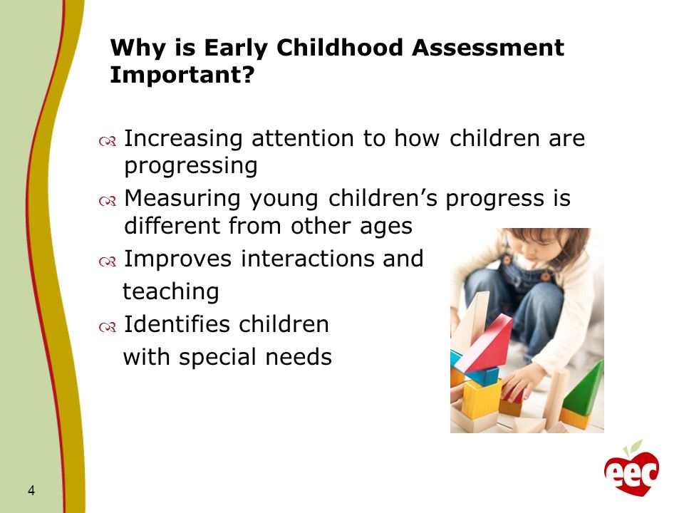 Why is Early Childhood Assessment Important