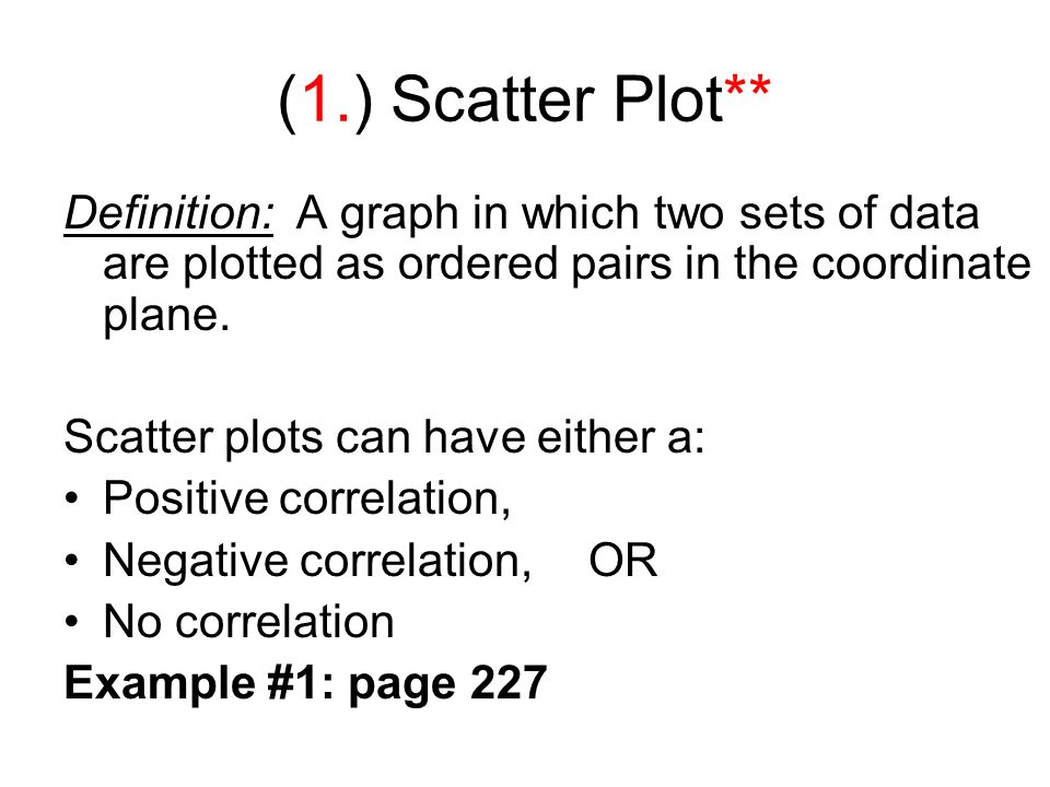 Scatter Diagram Definition In Statistics Diy Enthusiasts Wiring