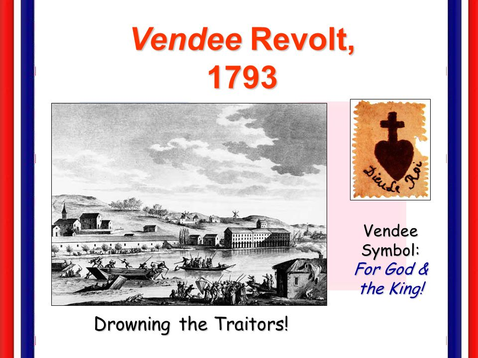Vendee Symbol: For God & the King!