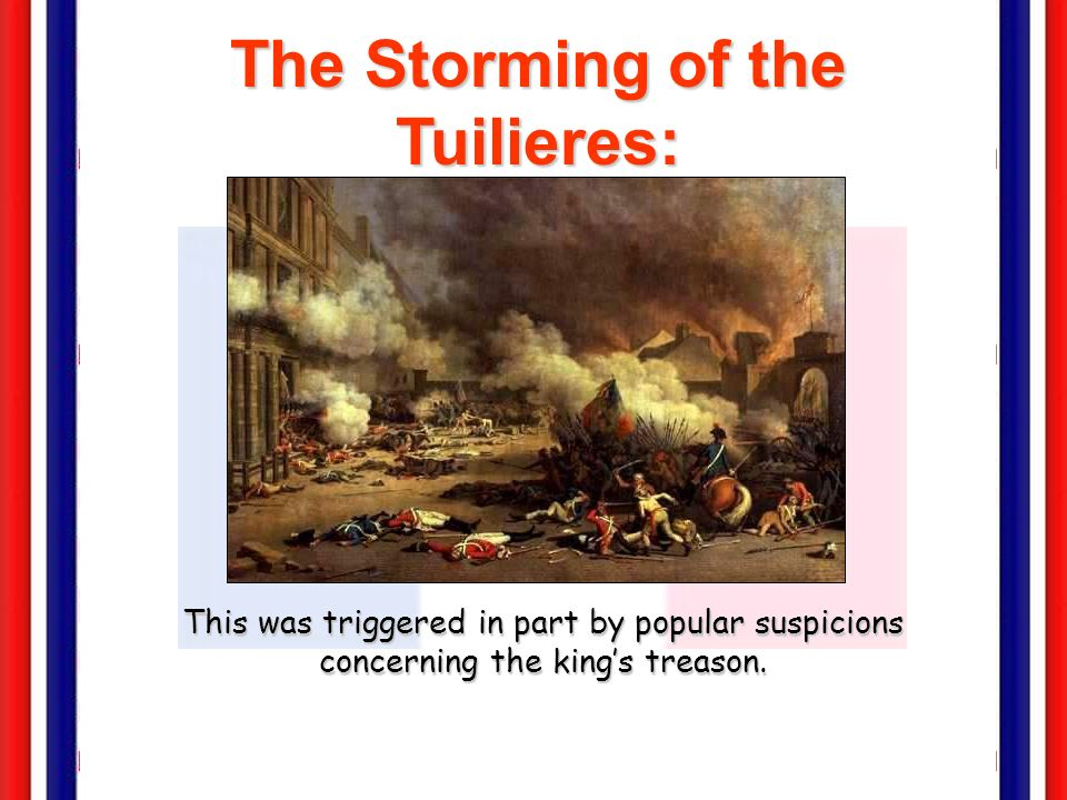 The Storming of the Tuilieres: August 9-10, 1792