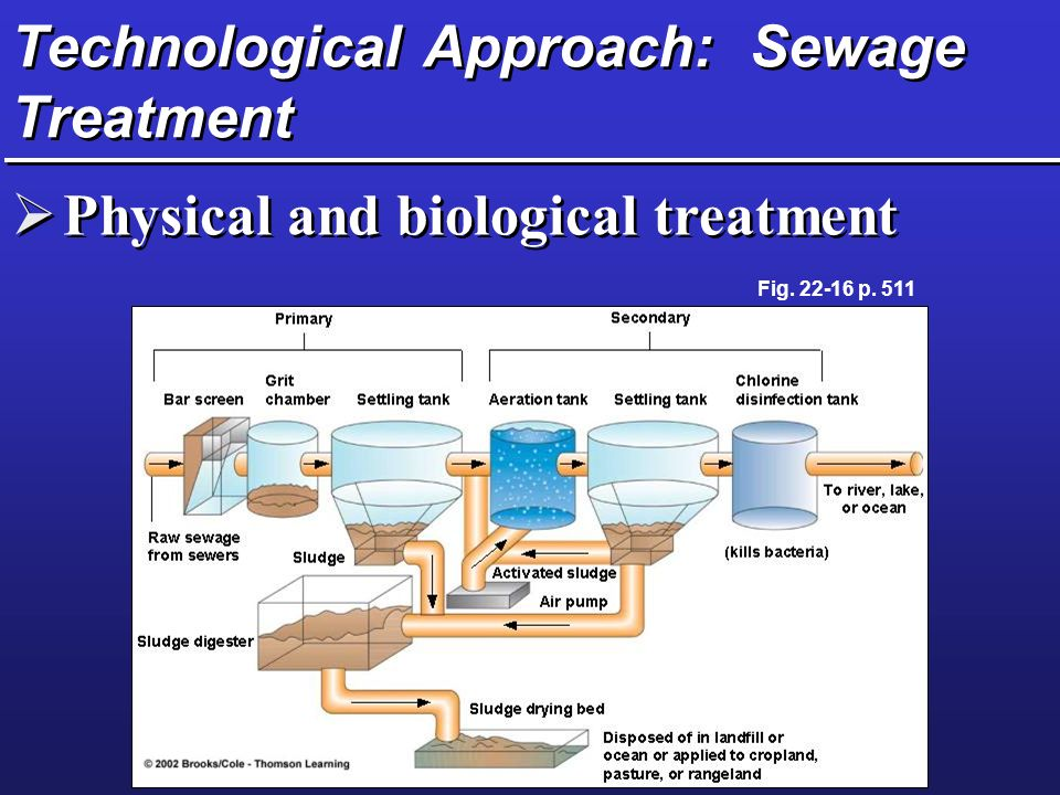 Technological Approach: Sewage Treatment