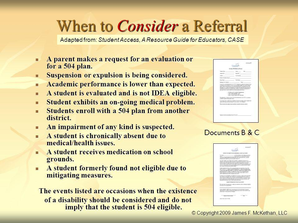 When to Consider a Referral