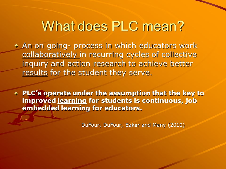 What does PLC mean
