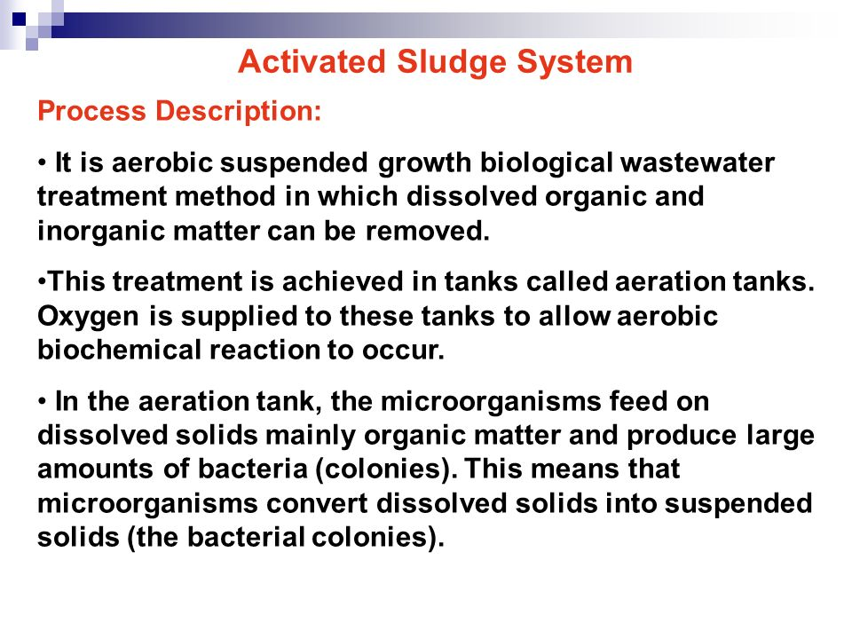Wastewater Treatment Processes - ppt video online download