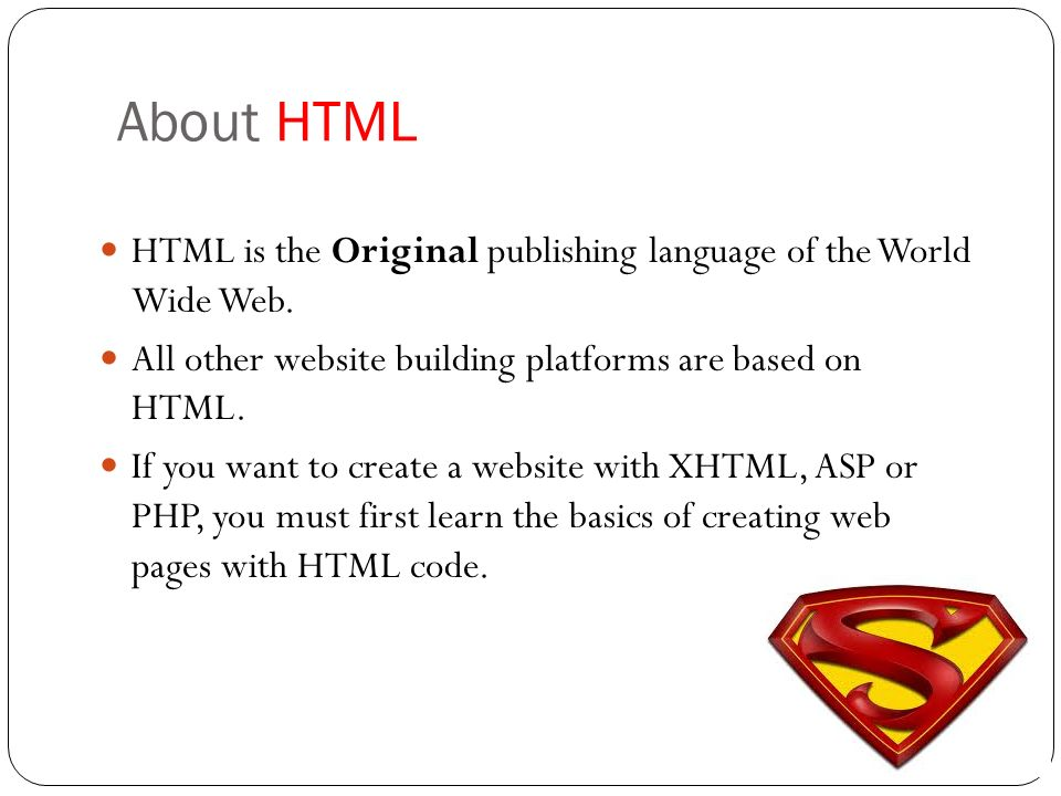 Creating Webpage Using HTML Ppt Download