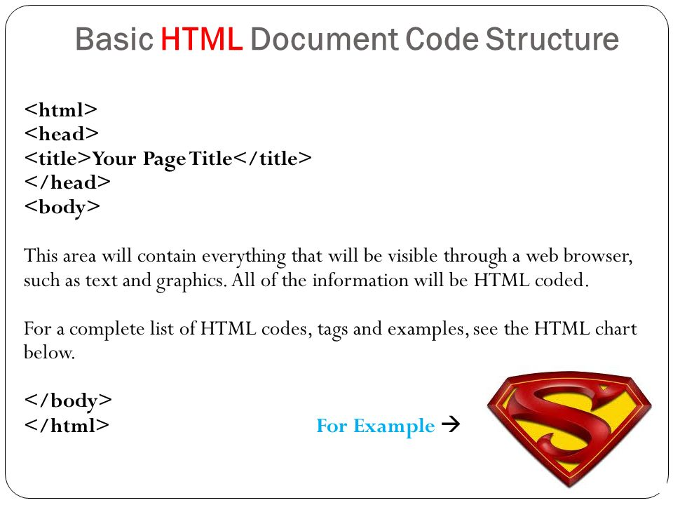 Example html document. Sgml is a convention for defining the.