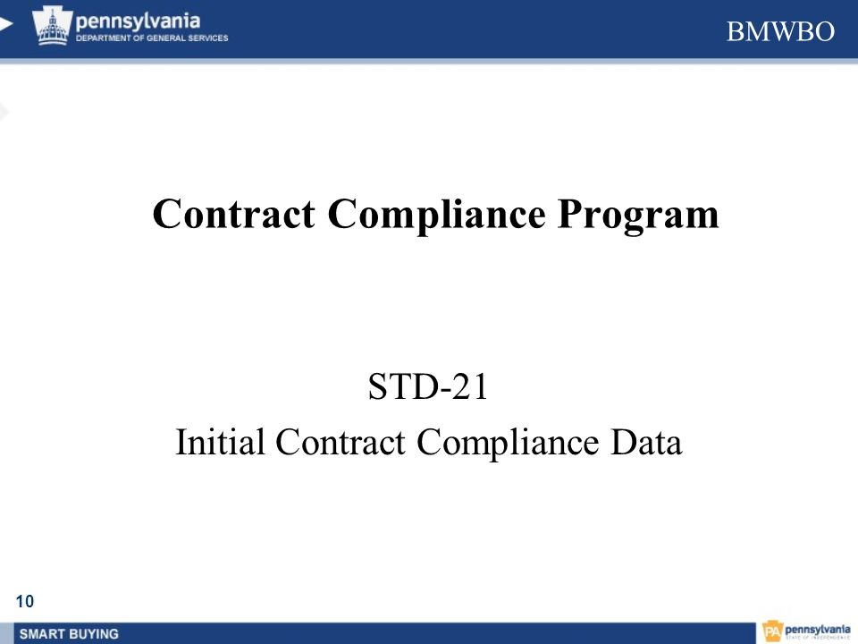 Contract Compliance Program