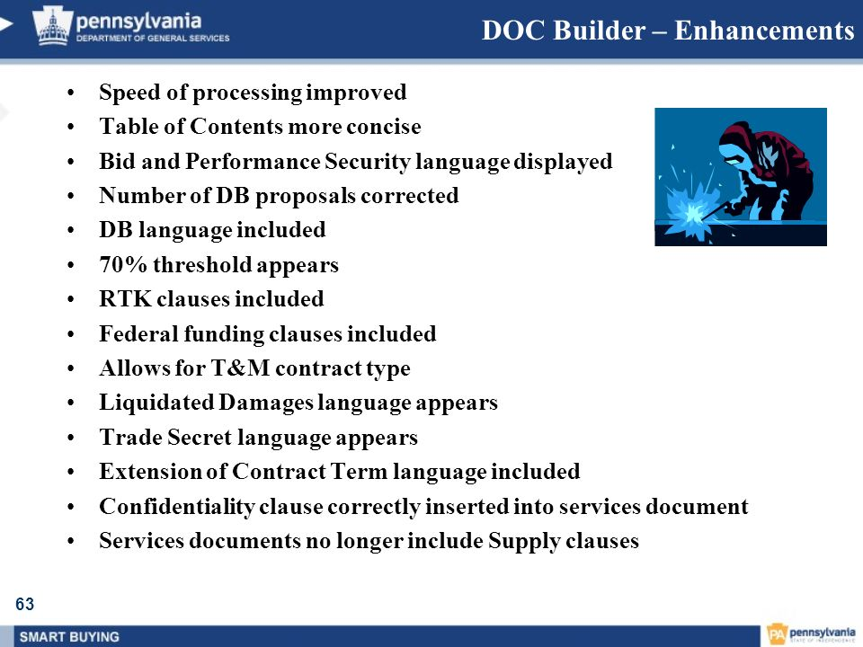 DOC Builder – Enhancements