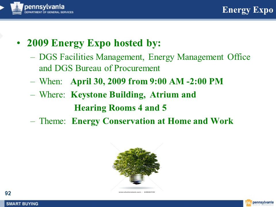 2009 Energy Expo hosted by: Energy Expo