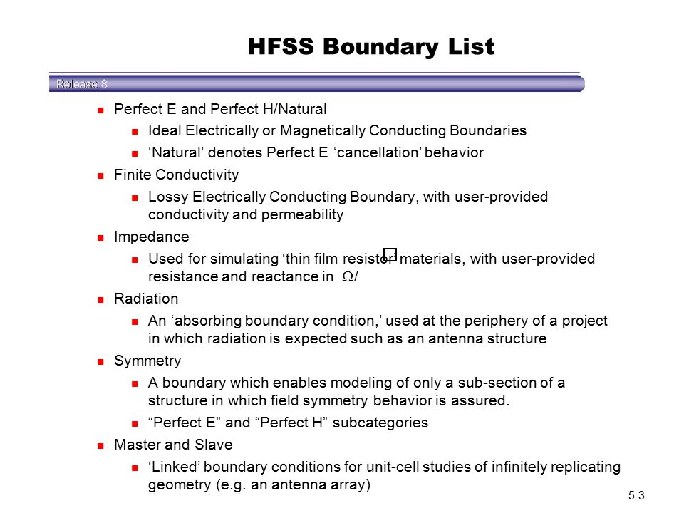Getting Started: Ansoft HFSS ppt video online download