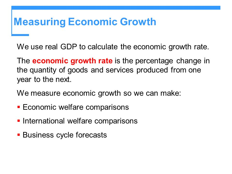 gdp as a measure of welfare
