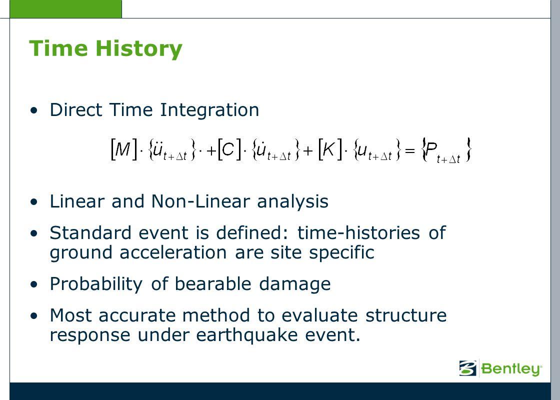 Bentley RM Bridge Seismic Design and Analysis - ppt download