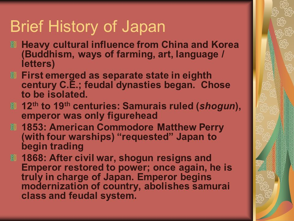 BRIEF HISTORY OF JAPAN EBOOK