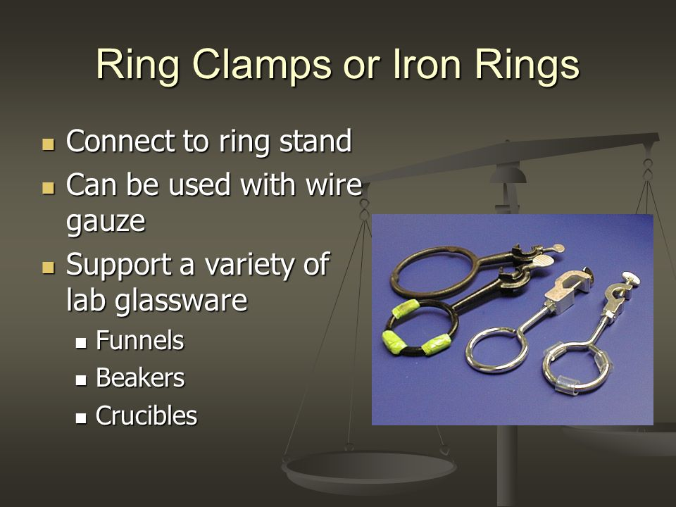 Ring Clamps or Iron Rings