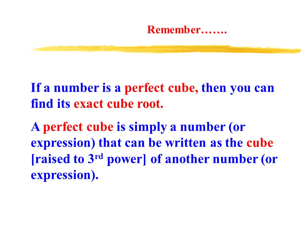 Perfect Numbers Squares And Cubes Ppt Video Online Download