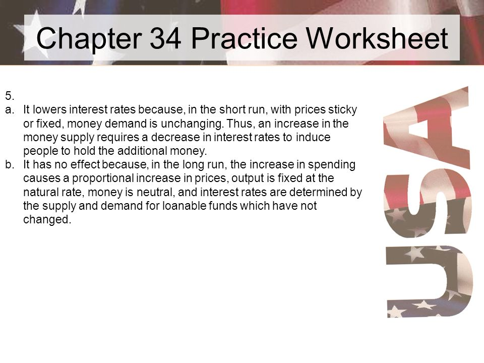Chapter 34 Practice Worksheet