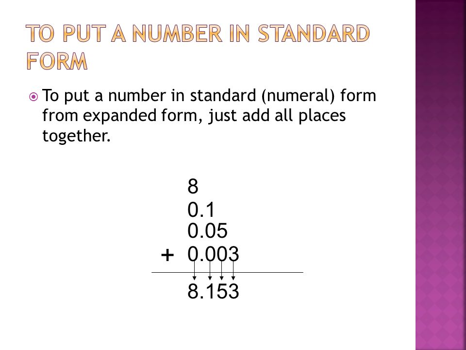 Place Value Word Expanded And Standard Forms Ppt Video Online