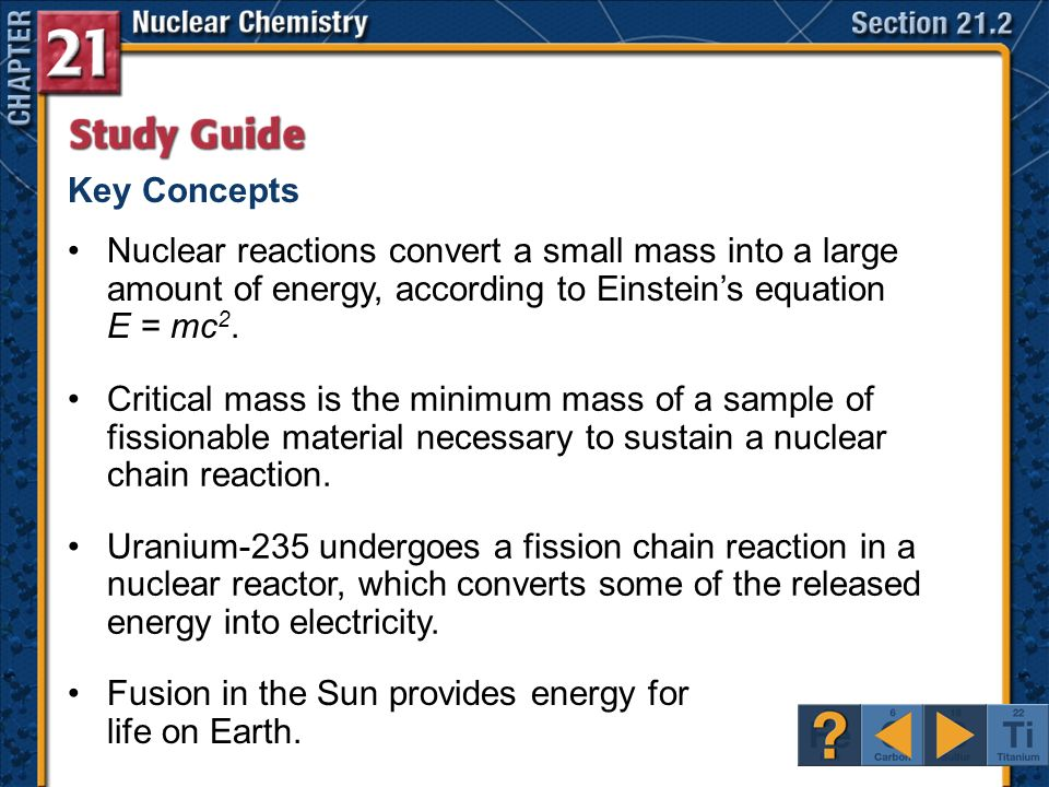 click a hyperlink to view the corresponding slides ppt video rh slideplayer com section 24.3 nuclear reactions study guide answers Nuclear Explosion