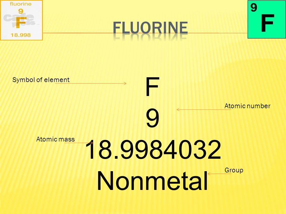 Fluorine Element Project Ppt Video Online Download