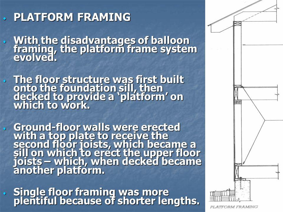 Light Wood Frame Construction - ppt video online download