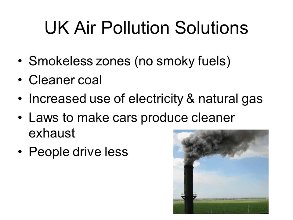 UK Air Pollution Solutions